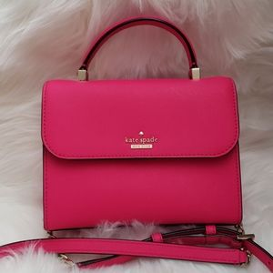 Kate Spade Hot Pink Cameron Street Mini Nora Bag